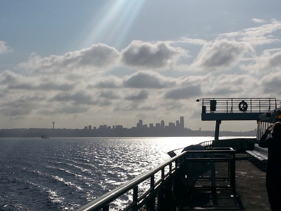 IndieBookstoreDay2015_SeattleFromFerry